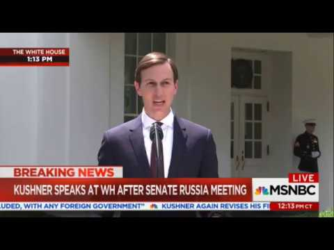 Jared Kushner Denies Collusion With Russia Following Senate Intelligence Committee Interview
