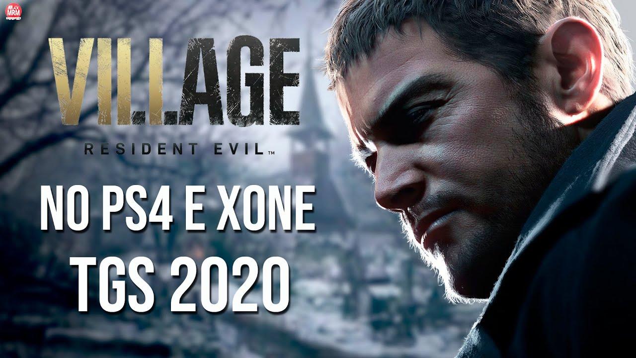 RESIDENT EVIL 8 : VILLAGE - TGS 2020   PODE VIR PARA O PS4 e XBOX ONE e Novidades de Gameplay.