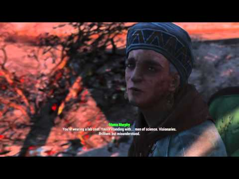 Fallout 4 - Mama Murphy on Institute ending