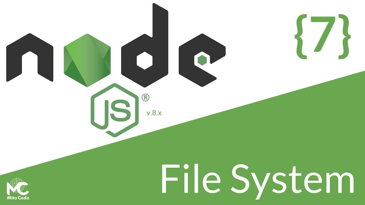 node file system