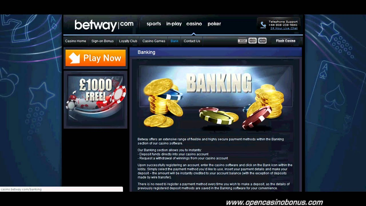 Betway Casino 10 Free