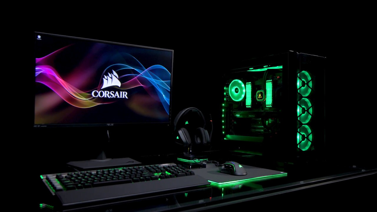 CORSAIR iCUE SOFTWARE - INTELLIGENT CONTROL, UNLIMITED POSSIBILITIES
