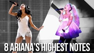 8 Ariana Grande's highest notes