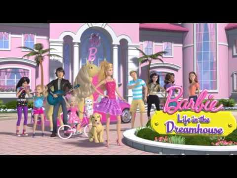 Барби: Жизнь в доме мечты. 68 серия Одна дома - YouTube