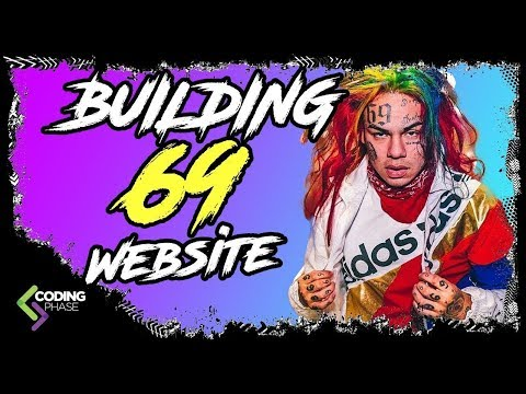 Tutorial: build a Music with HTML and CSS Website for 6ix9ine aka tekashi69Part 1 | #CodingPhase