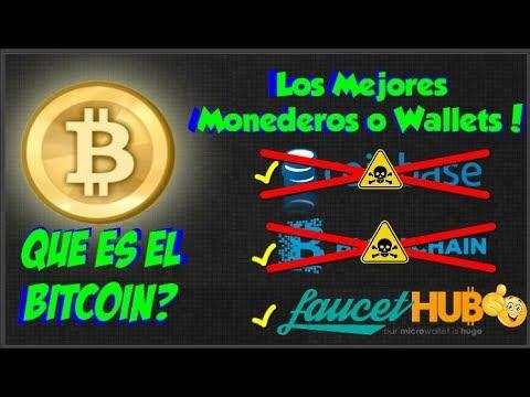 BITCOIN Que es   Los mejores Monederos: COINBASE   BLOCKCHAIN   FAUCETHUB Serie: Paginas Bitcoins #1