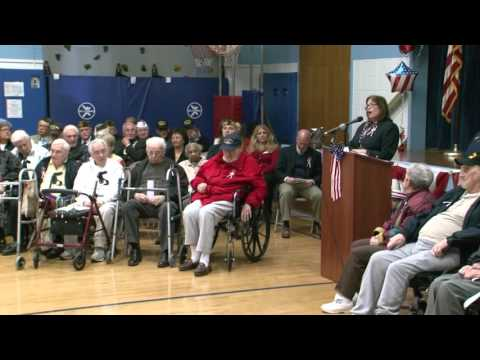 MLK Elementary School, 2015 Veteran's Day Celebration