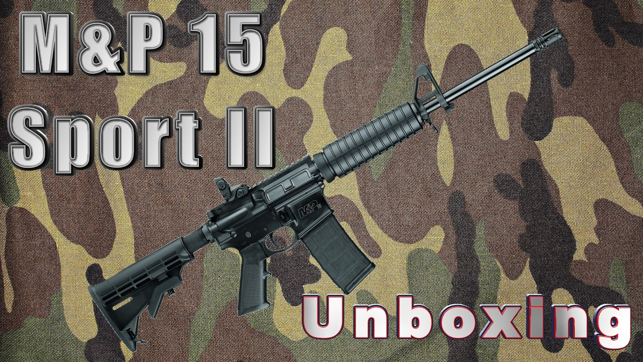 Smith & Wesson M&P 15 Sport 2 Unboxing