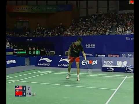 Lin Dan, Lee Chong Wei LI-NING China Masters Super...