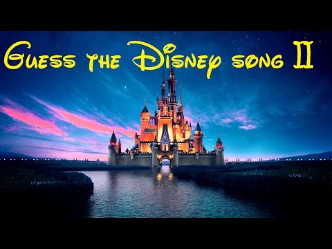 Guess the Disney song II