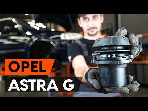 Как заменить опору передней стойки амортизатора OPEL ASTRA G CC (F48, F08) [ВИДЕОУРОК AUTODOC]