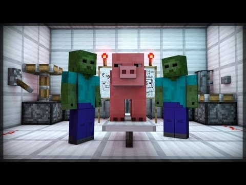 Thumbnail: CREATURE CREATION (Minecraft Animation)