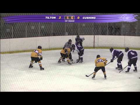 "Cushing Academy - Varsity ""B"" Boys Ice Hockey vs. Tilton School"