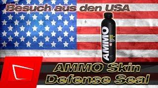 AMMO SKIN by Larry Kosilla zu Besuch in Deutschland - Lackversiegelung für unseren Winter 2018?