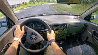 1999 Seat Inca [1.9 SDI 64 HP] | POV Test Drive #880 Joe Black