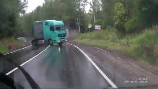 Kompilacja wypadków samochodów ciężarowych