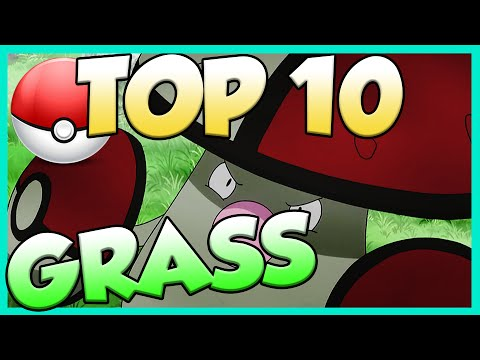 Top 10 Best Grass Type Pokemon! Grass Type Pokemon Facts, Stats, and Trivia!