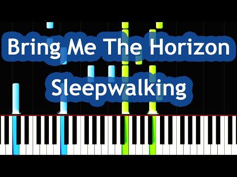 Bring Me The Horizon - Sleepwalking Piano Tutorial