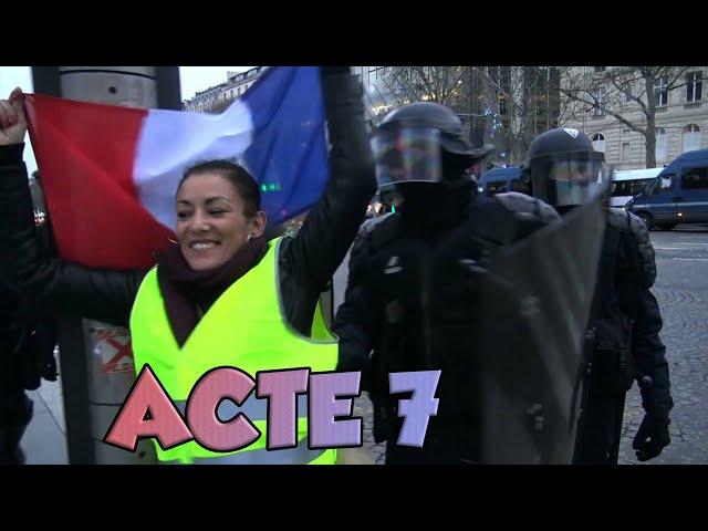 Gilets Jaunes: Acte 7
