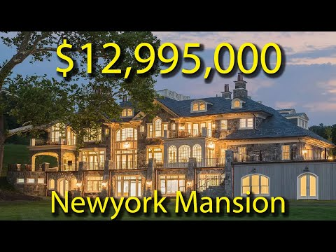 This Magnificent Stone Manor Sits On Nearly 3 Level Acres With Hudson River Views