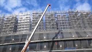 新国立競技場の建設工事現場(29)2018年2月 Construction site of the new National Stadium thumbnail