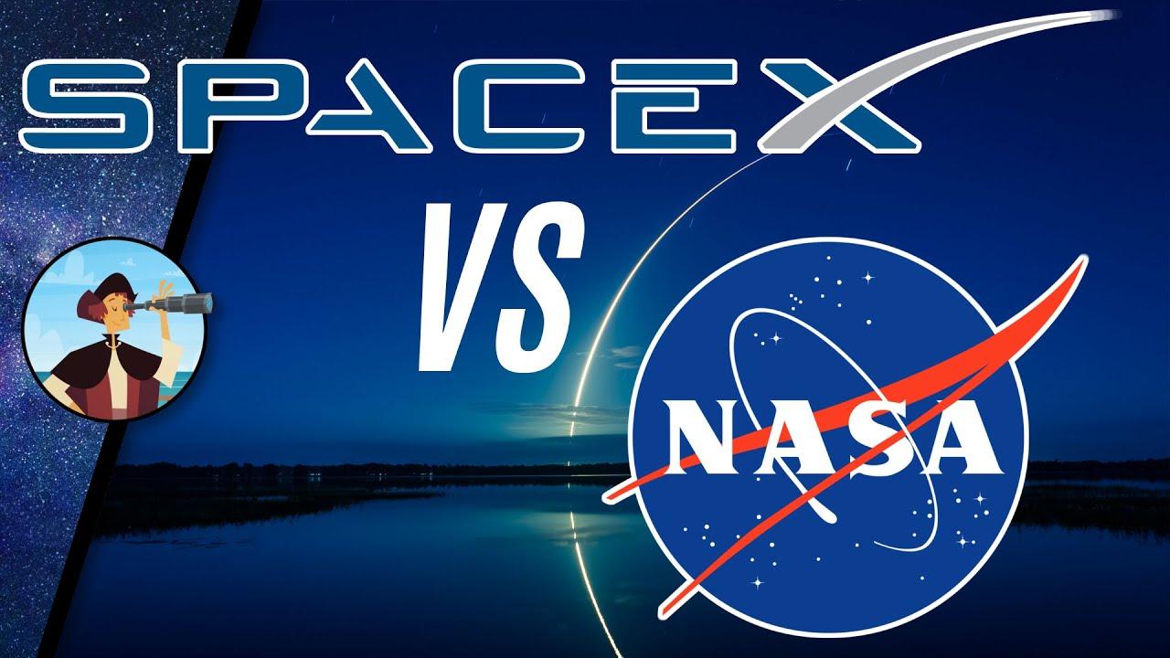 SpaceX vs. NASA: Wer ist der König der Raumfahrt? | Wiederverwendbare Raketen (Doku Teil 2)