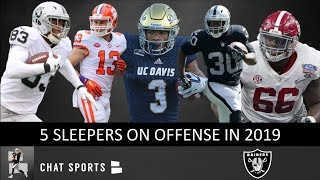 5 Oakland Raiders Sleepers To Keep An Eye On In 2019 On Offense