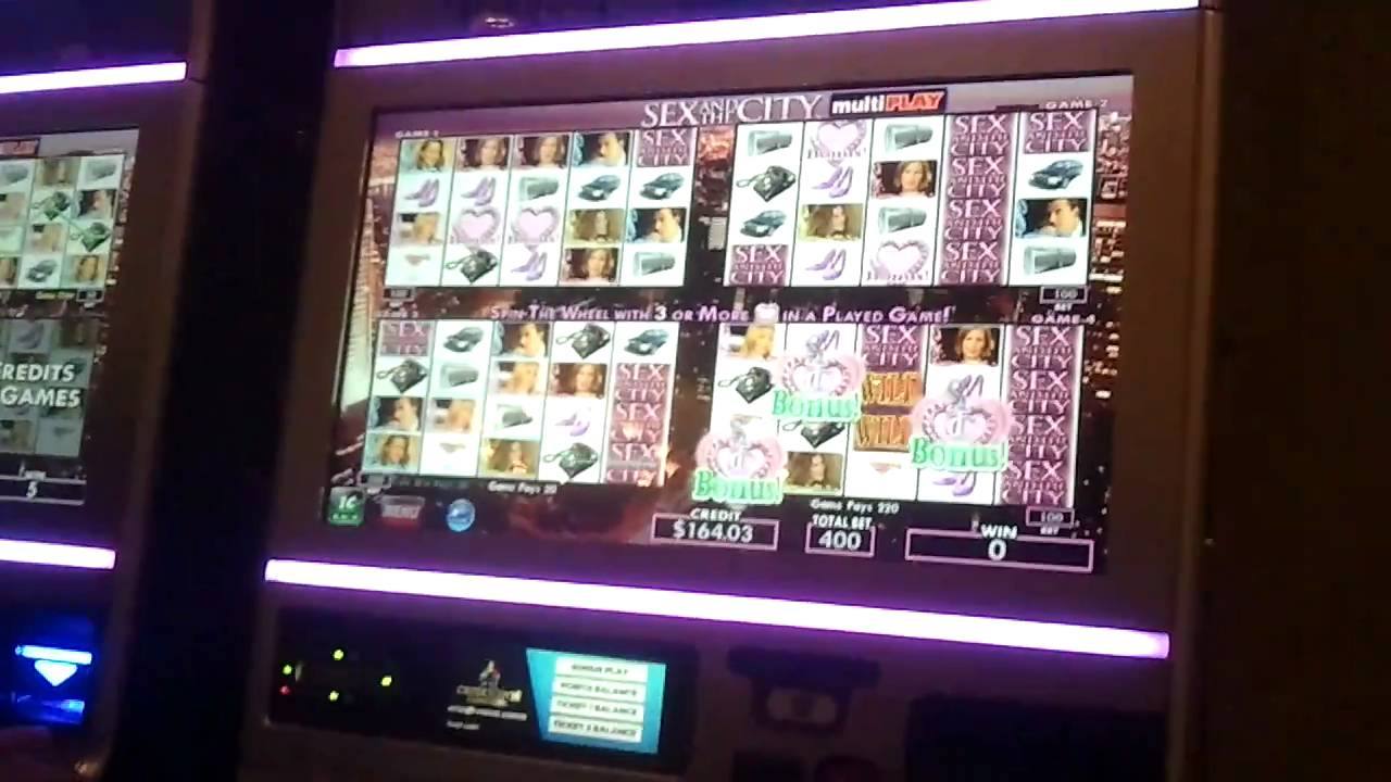 New sex and the city slot machine hollywood casino craps rules