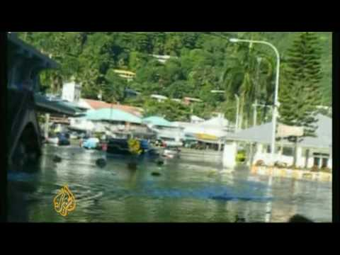 Deadly tsunami strikes Samoan islands - 30 Sept 09