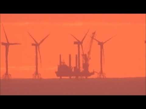 Flat Earth 78 Miles Isle of Man thumbnail