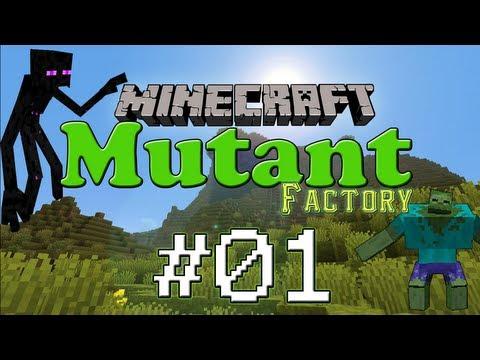 [Minecraft FR]Mutant Factory 01 : Bonjour la compagnie !