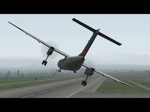 US-Bangla Airlines Flight 211 - Crash Animation