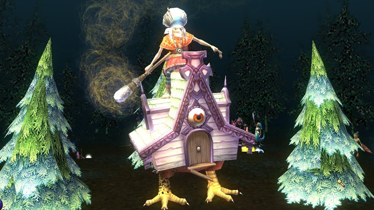 wizard101 new polaris myth spell witchs housecall