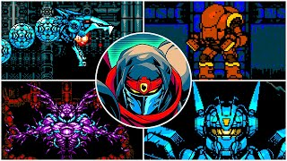 Cyber Shadow - All Boss Fights, ENDING, & Credits