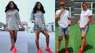 Regina Daniels Challenge Mercy Aigbe's Daughter - Who Is More Cute & Beautiful?