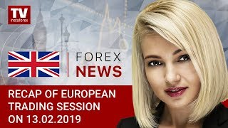 InstaForex tv news: 13.02.2019: Euro and pound come under bearish pressure (GBP/USD, EUR/USD)