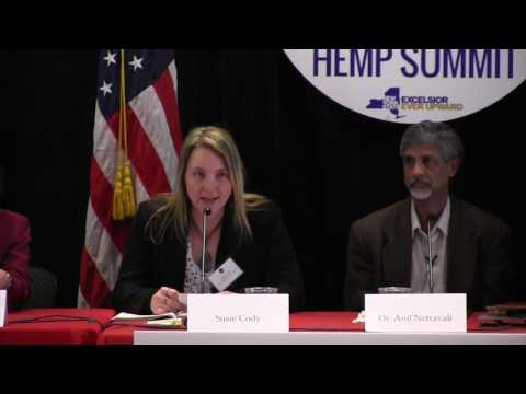 NY Industrial Hemp Summit: Interested in a hemp business? (panel)