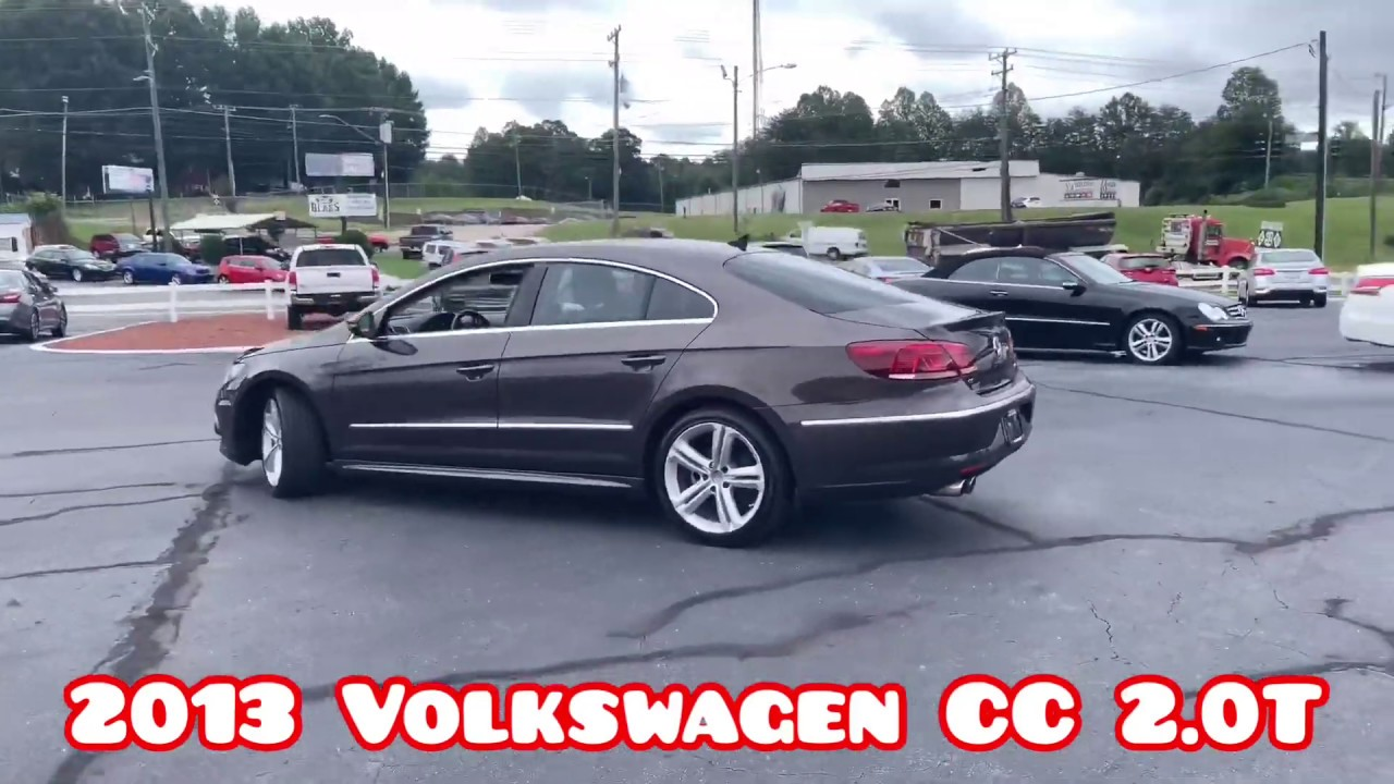 2013 VW CC 2 0T For Sale In Winston-Salem, NC 27105