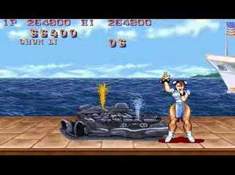 Street Fighter Ii Chun Li All Perfect 1 2 Youtube