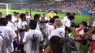 2014/7/23 ヴィッセル神戸戦・試合終了後ドゥトラ選手引退セレモニー