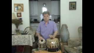 White India - Tabla lesson 40 - Ektaal  Theka in madhya - drut & ati drut