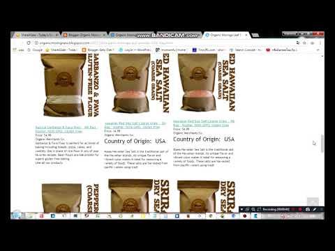 Organic Moringa Leaf Powder   55lb Bag   Kosher, NON GMO, RAW, Vegan