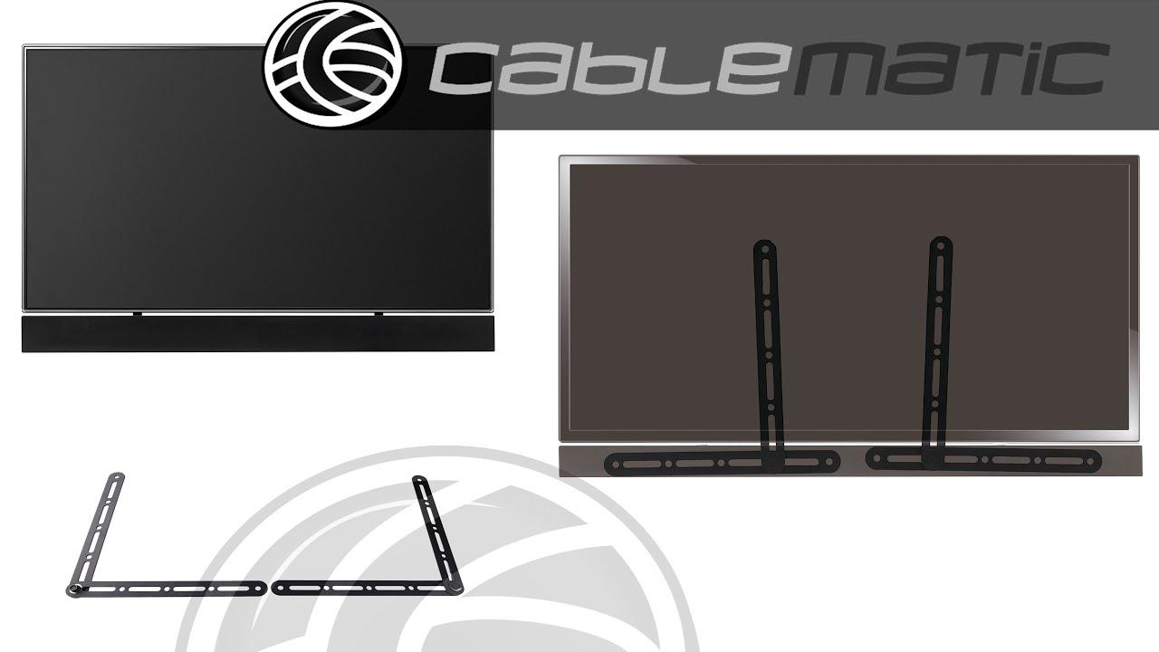 Sistema de montaje a pared para barra de sonido y TV distribuido por ...