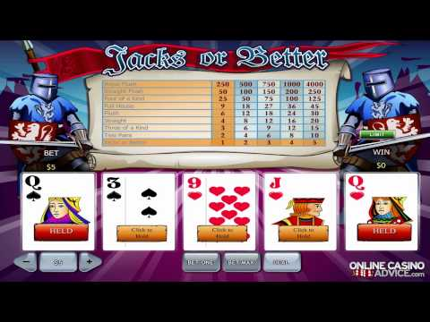 How To Play Video Poker Online - OnlineCasinoAdvice.com