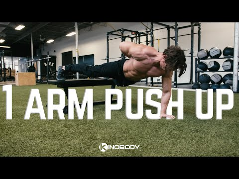 How to Do a Perfect One Arm Push Up in Four Simple Steps | Tutorial