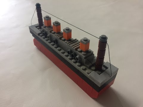 How to Build a Lego Titanic | Mini Scale