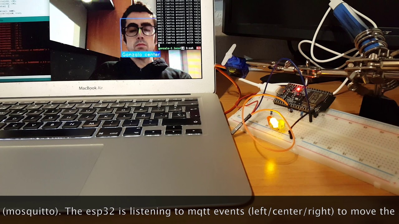 OpenCV and ESP32: Moving a Servo With My Face - DZone IoT