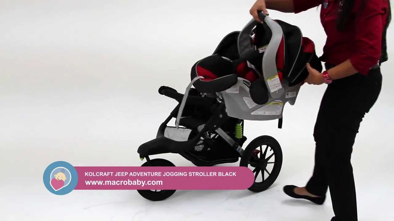 Macrobaby Jeep Adventure Jogging Stroller Youtube