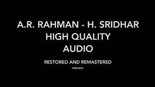 Sillunu Oru Kaadhal   Newyork Nagaram | High Quality Audio | A.R. Rahman