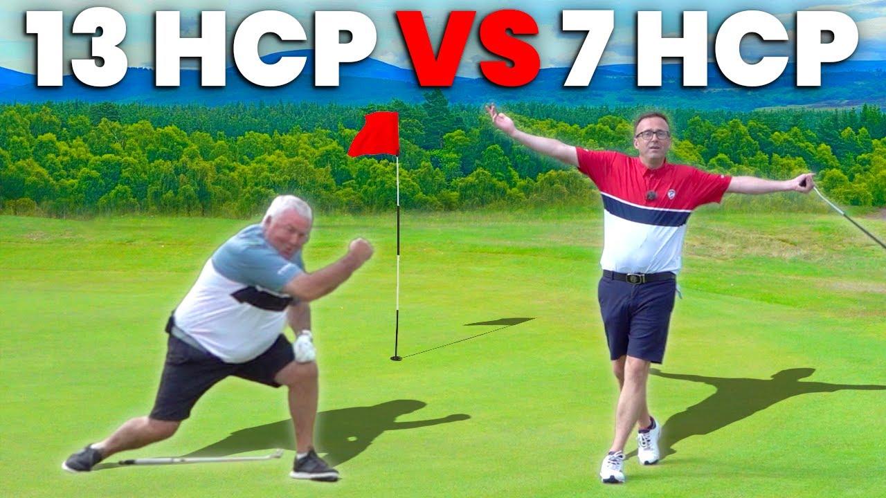 13 HANDICAP VS 7 HANDICAP GOLF MATCH - can the slayer strike again?